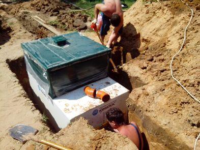 чистка строительство септиков и выгребных сливных ям реконструкция