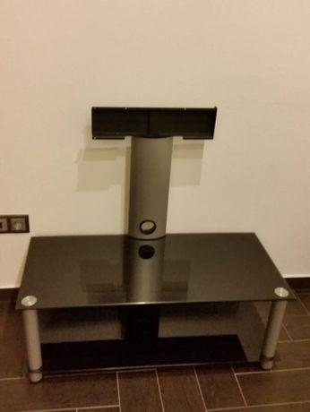 Mesa vidro com suporte TV
