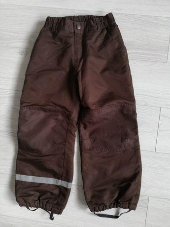 Wysyłka 1 zł Spodnie zimowe h&m 116