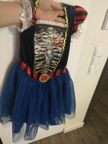 Sukienka karnawał, halloween 7-8 lat, rozmiar 122-128
