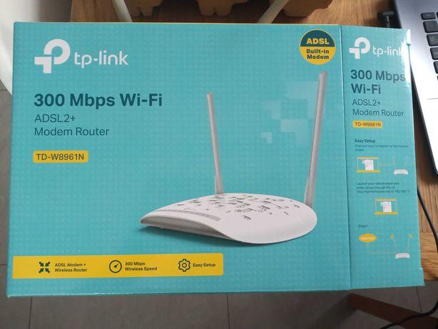 Router TP-Link, modem, ADSL