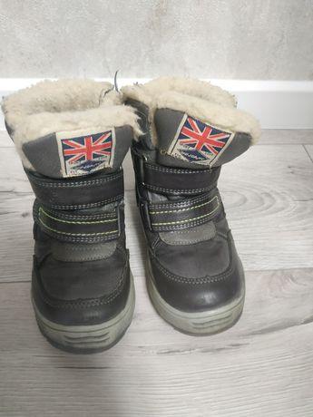 Зимові ботінки Зимние ботинки