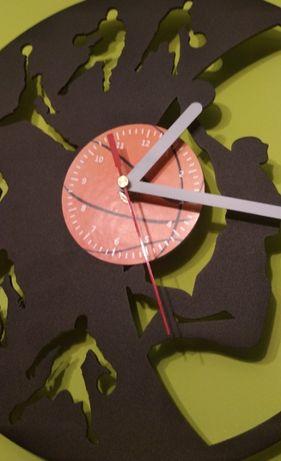 Zegar ścienny dla fana koszykówki
