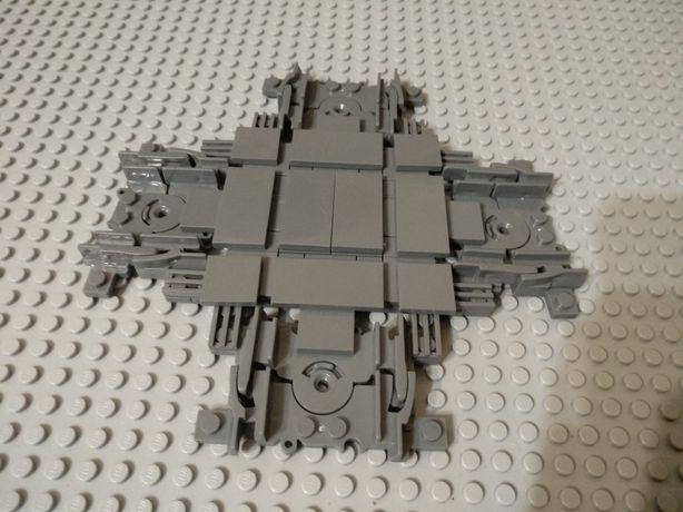 Рельсы Лего перекресток - крестовина. Lego train classic