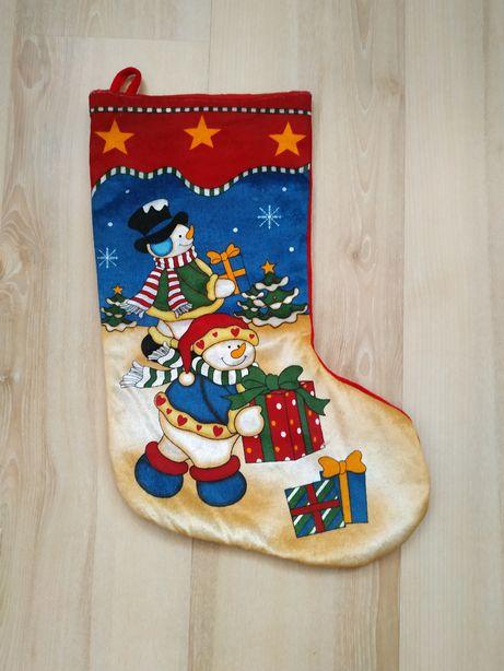 Новогодний (рождественский) носок, сапожок для подарков