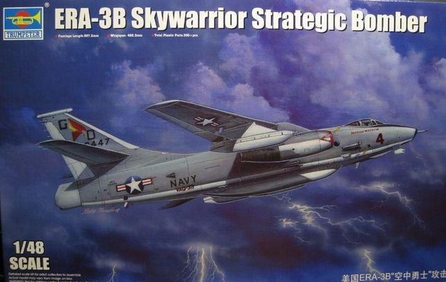 * Trumpeter - 1:48 * ERA-3B Skywarrior Strategic Bomber