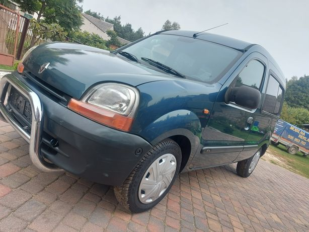 Renault Kangoo  1.4 benzyna Po oplatach Klimatyzacja Webasto