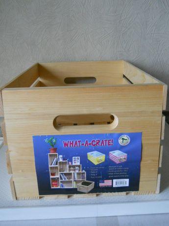 Ящик деревянный для хозяйственных нужд