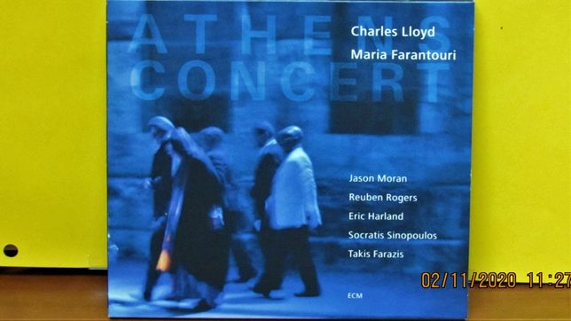 Charles Lloyd Maria Farantouri - Athens Concert ; ECM ; 2CD