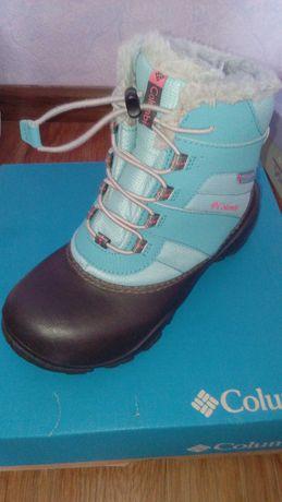 Зимові черевики для дівчачі розмір 35