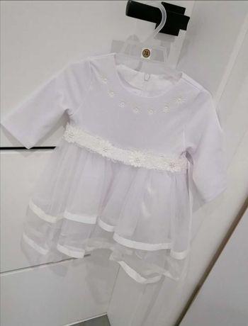 Sukieneczka do chrztu dziewczynka