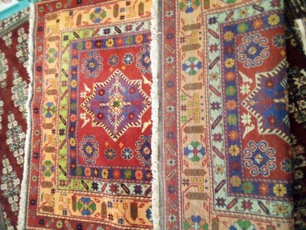 Продам ручной работы ковёр племени борчалы 130 см 190 см шерсть