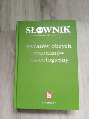 Słownik wyrazów obcych synonimów 3w1
