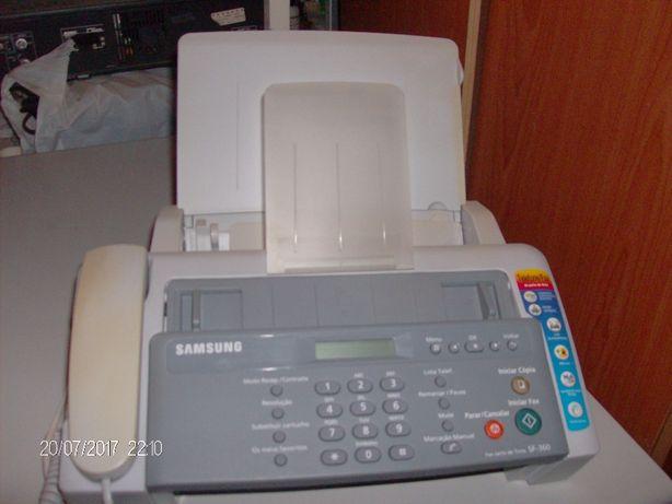025 - Fax c/telefone novo da samesung modelo SF 360