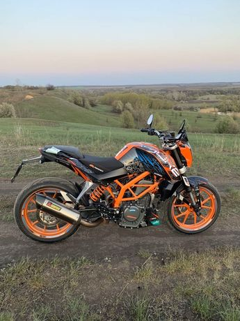 KTM Duke 390 ABS limited edition розмитнений