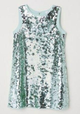 Платье hm на 3-4 года