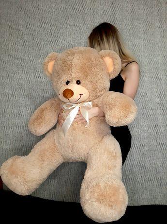Великий ведмідь, Новий, 1 м, Большой метровый плюшевый медведь