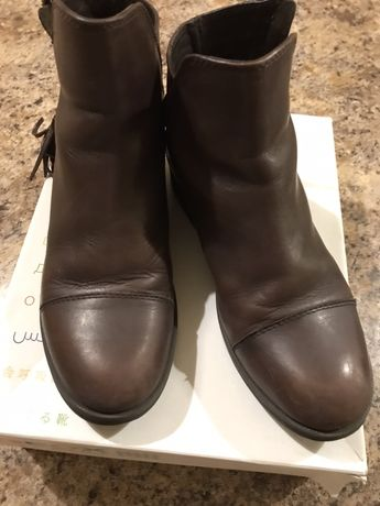 Кожаные ботинки Geox 34 размер