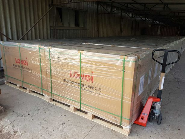 LONGI 370 W panele fotowoltaiczne LR4-60HPH czarna rama