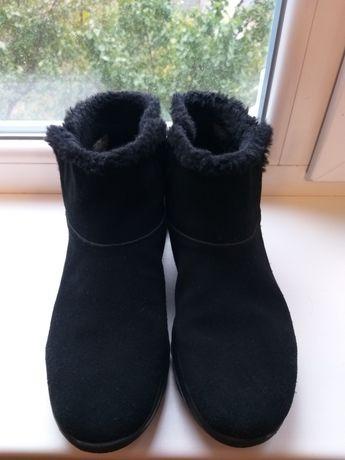 Ботинки женские утеплённые Skechers 41 р 26,5 см