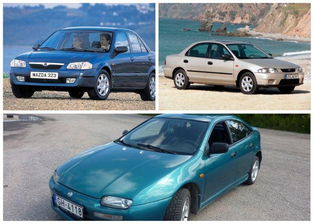 Разборка Mazda 323 BA, BJ, F, 323F 1994-2004 Двигатель, кузов, ходовая