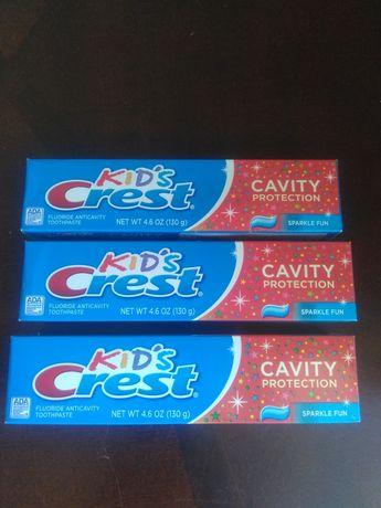 Crest оригінал - дитяча зубна паста Crest Kids