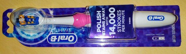 Зубная электрическая щетка Oral-B. Новая