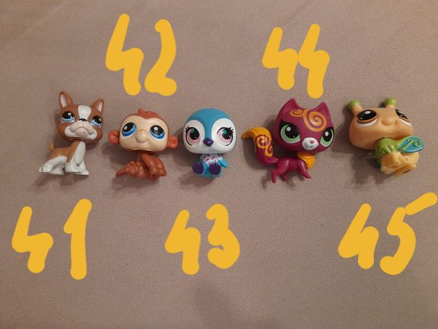 Figurki Littlest Pet Shop