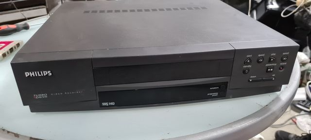 Magnetowid vhs philips