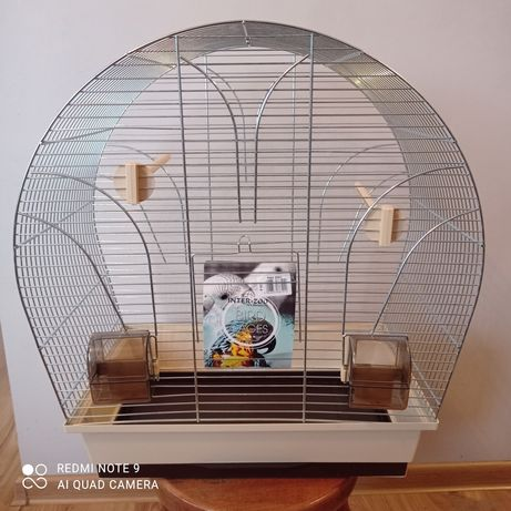 Klatka kanarek papużka zeberka
