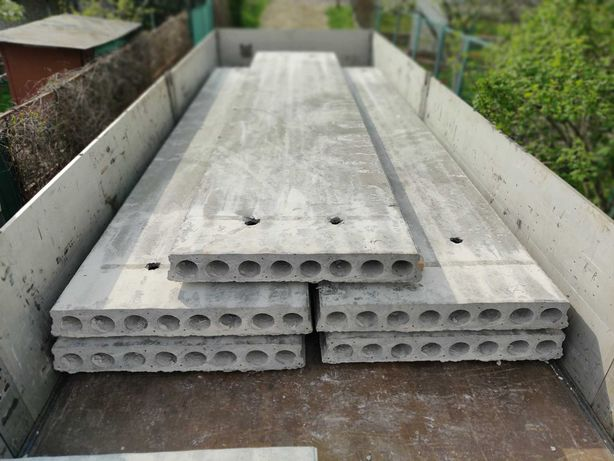 Плити панелі перекриття плиты панели перекрытия ПК ПБ облегченные