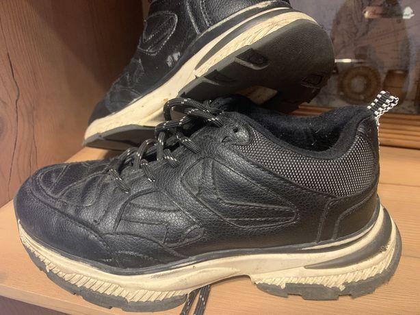 Кожанные кросовки Zara 35 размер