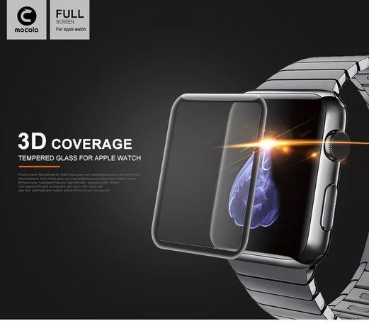 Защитное закаленное 3D стекло Mocolo Apple Watch (38 42 mm)