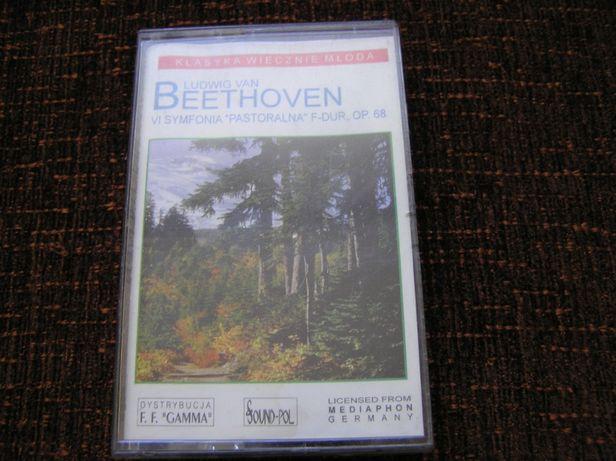 Ludwig Van Beethoven kaseta audio VI symfonia pastoralna