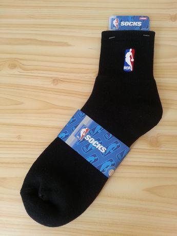 NBA skarpety 42-47 oryginalne quarter koszykarskie sportowe czarne