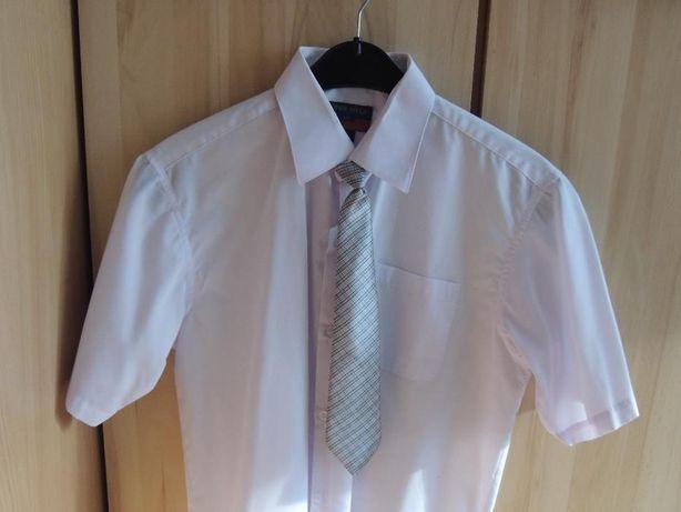 krawaty chlopięce na gumce, eleganckie 3 sztuki, stan bardzo dobry