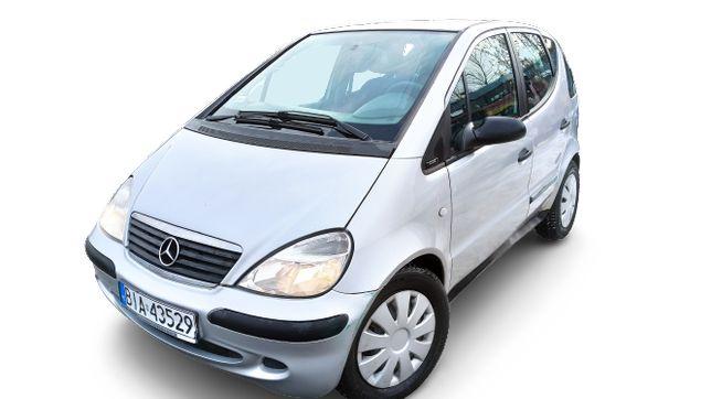 rezerwacja do 27.02 Mercedes A klasa 140 1.4 benz. 2001 rok, Automat