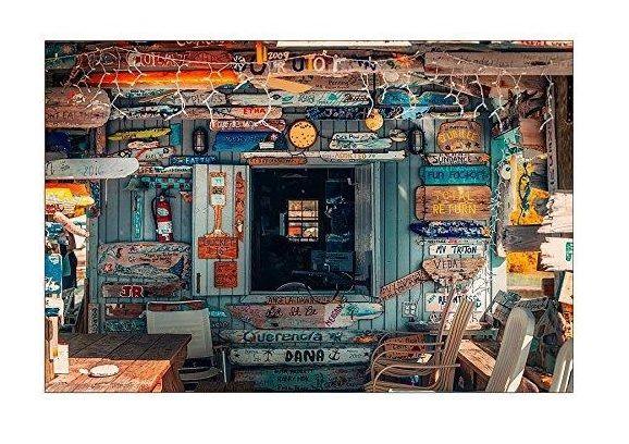 Obraz grafika nowoczesna ArtPlaza Studio Bahamas 90x60 cm z 577 zł!