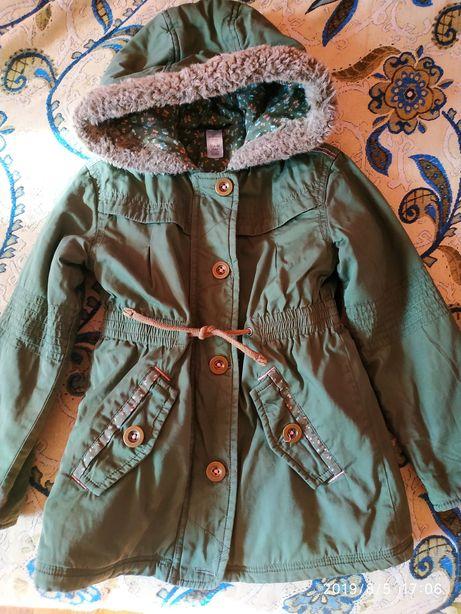 Продам куртку,парку George 4-5 (104-110 cm)