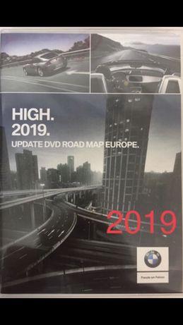 Mapa BMW Polski Europy HIGH 2019 x3 x5 e39 e46 e65 e53 e83 nawigacja