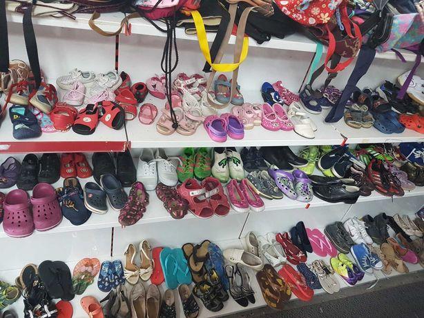 Odzież używana, buty, buciki po 5 zł