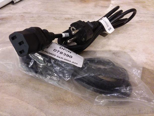 Kabel zasilający do monitora,komputera, sprzętu 1,8 m, Nowy