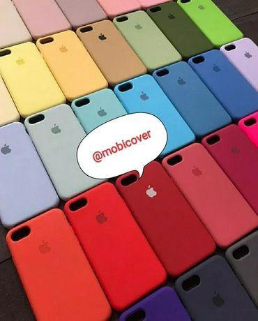 Silicone case чехол айфон 7, 7plus, 8, 8+, X, Xs, Xr, 11, 12 iphone