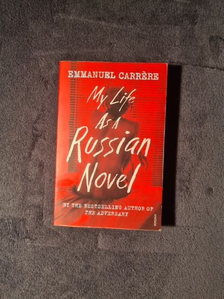 Emmanuel Carrère My Life as a Russian Novel (PO ANGIELSKU) KLIMATYCZNA