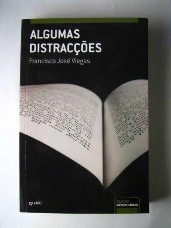 Livro - Algumas Distracções - Francisco José Viegas