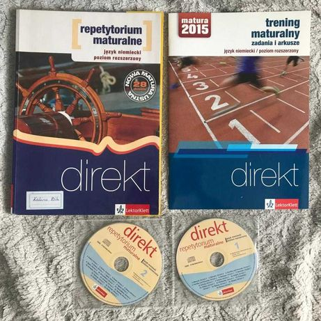 książki, podręczniki Jęz. Niemiecki- rozszerzony- repetytor. maturalne