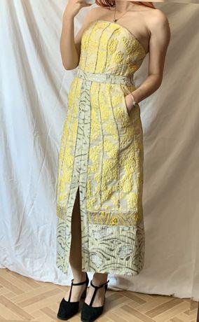 Sukienka hm conscious exclusive xxs /xs kontaktowa elegancka wesele
