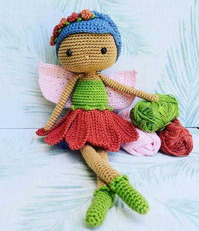 Boneca Fadinha em crochet