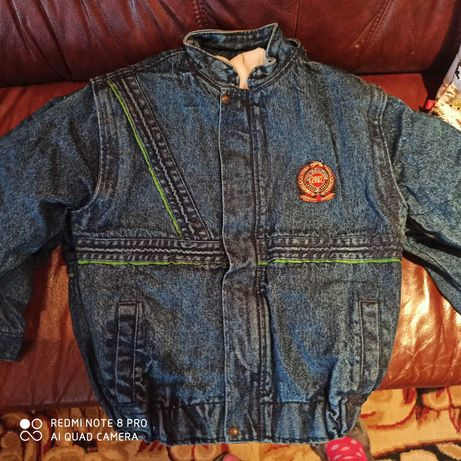 Sprzedam kurtki jeansowe ocieplane
