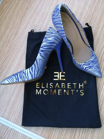 Sapatos Elisabeth Moments Novos